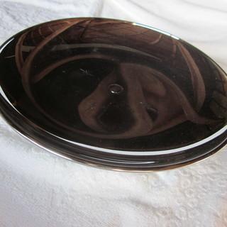 脚付きの皿 おそらくステンレス製(その2)