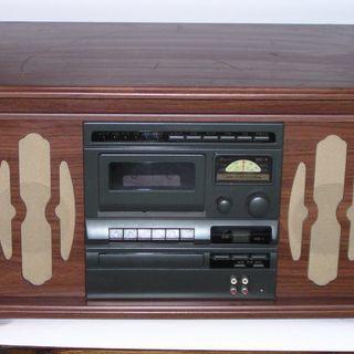 COLUMBIAレコードCDラジカセ GP-38(音聴箱)中古です。
