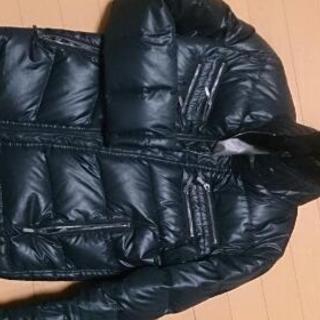 男性Mサイズ ダウンジャンパー黒