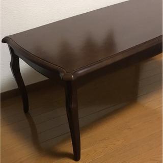 【美品】アンティーク風コーヒーテーブル