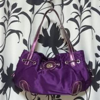 4℃ ハンドバック 紫