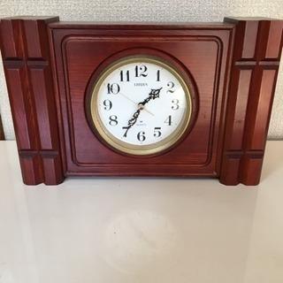 置き時計🕰CITIZEN🌟無料🌟