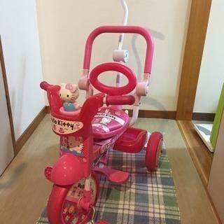 キティーちゃん☆三輪車☆超美品