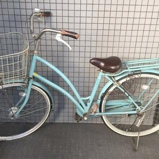 自転車 ブルー