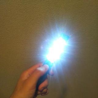 磁石付きライト
