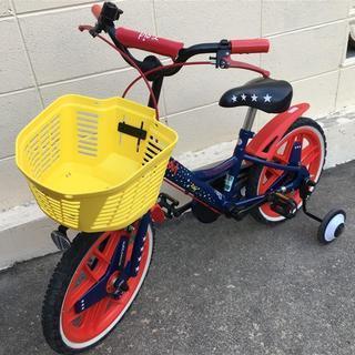 BRIDGSTONE 16インチ子供自転車 補助輪付