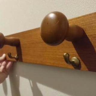 木製 壁掛けハンガー