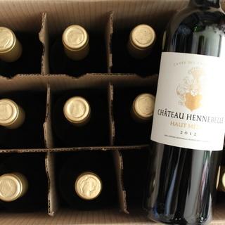 2012ボルドーオーメドック産(左)赤ワイン1本~