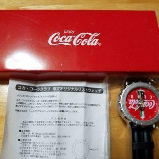 コカ・コーラ 新品未使用時計