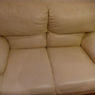 訳あり家具 二人掛けソファ