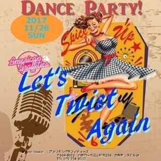 let's twist again! LIVE!