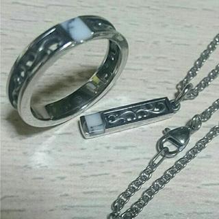 【新品】ネックレス×リング セット