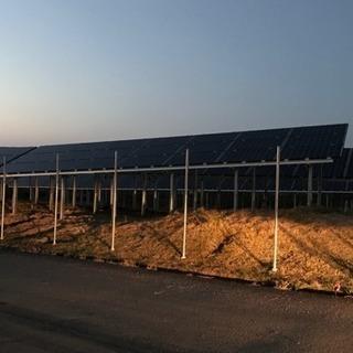 急募 太陽光パネル取り付けのお仕事です