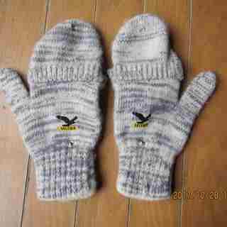 かぶせ付き5本指手袋