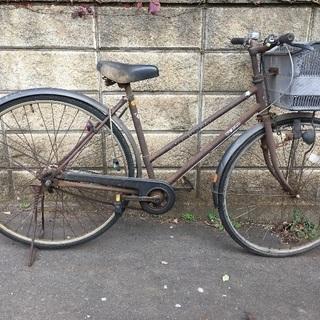 自転車 27インチ 3段切替