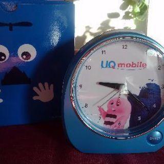 ☆非売品・未使用☆UQモバイル 3姉妹ボイス目覚まし時計