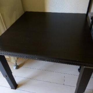 値下げしました。コタツテーブル 伸縮脚!