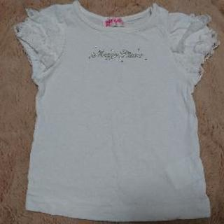 90cmメゾピアノ 白Tシャツ