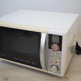お年玉セール!美品!SHARP製電子レンジ・オーブンレンジ&トースター