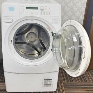 値下げ! 旧SANYO AQUQ AWD-AQ3000 ドラム式洗...