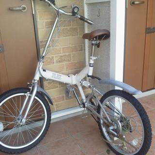 折り畳みのマウンテンバイク(20インチ)