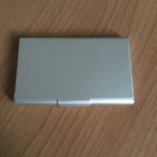 【中古】カードケース/無印良品