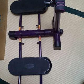 足腰専用運動マシン。レツグマジツクXお譲り致します。運動DVD付き、値下げ致しました。 - 金沢市