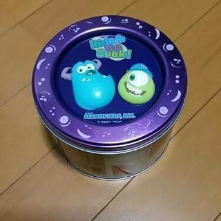 【美品】モンスターズインク 空き缶
