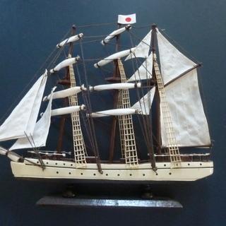 帆船模型  木製