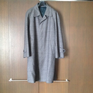 メンズ ウールコート 日本製の画像
