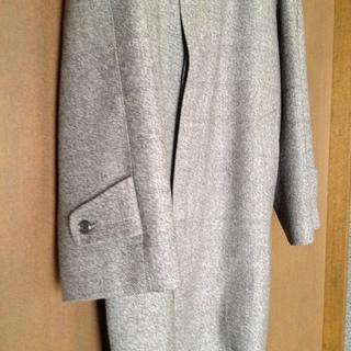 メンズ ウールコート 日本製 - 服/ファッション