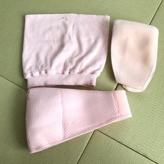 ピジョン  しっかりサポート妊婦帯&ささえ帯セット(ピンク)M-L