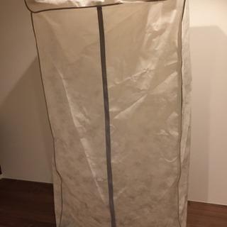 カバー付きハンガーラック