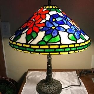 ステンドグラス スタンド ランプ  I