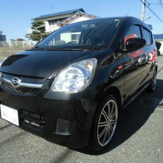 平成22年式 ミラ 黒 車検2年付き 乗り出し33万円