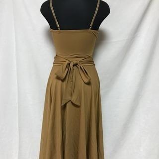 37047f3eb180e 社交ダンスドレス ブラウン系(送料込み) (りき) 小野のドレスの中古 ...