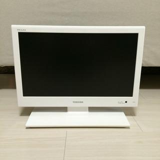 【美品】TOSHIBA 液晶カラーテレビ