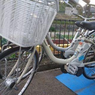 Panasonic電動自転車ALFIT白色
