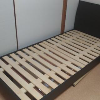 木製シングルベッド フレームのみ