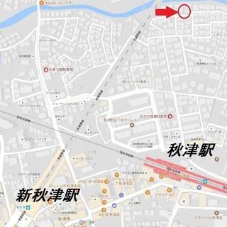 【礼金・敷金・仲介手数料不要】秋津駅徒歩4分月極駐車場
