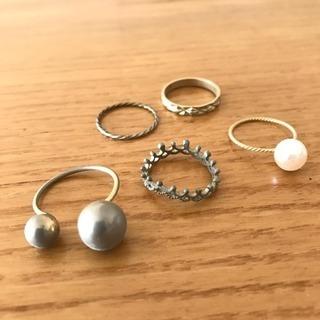 指輪 5個セット