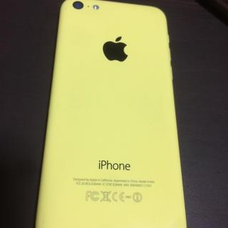 iphone5c 16G docomo イエロー
