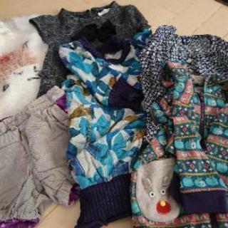 女の子 子供服 110 mikihouse hakka babys...