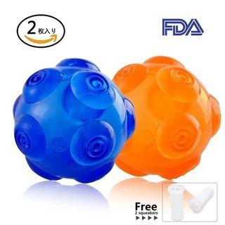 新品未開封  犬用 玩具ボール 耐久性 ゴムのおもちゃ 耐噛みト...