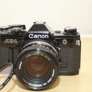 キヤノンAE-1 FD50mm F1.4 シャッターOK!