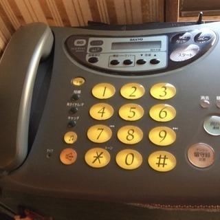 ファックス留守番電話