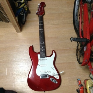 Photogenic フォトジェニック エレキギター  ●色~赤色