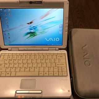 2003年購入 SONY VAIO TR-2/P 英語キーボード ...