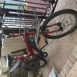 中古の電動自転車