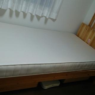(商談中)無印 シングルベッド (無料)